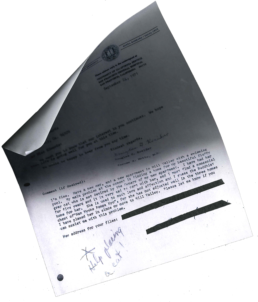 02 Letter From Jerome Motto Suicide Study