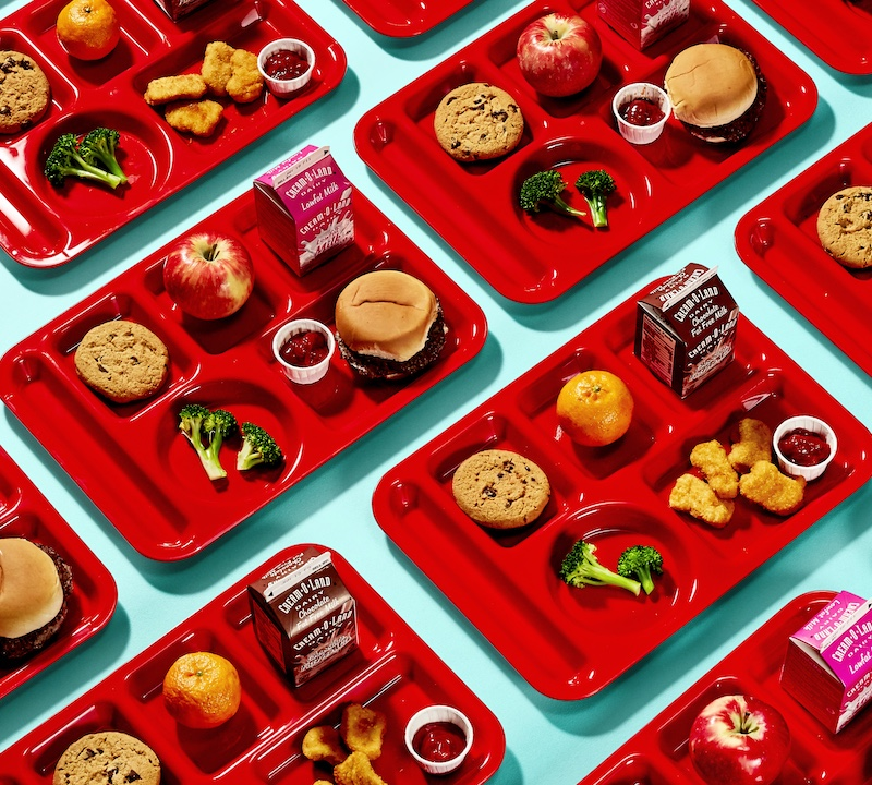 Unhealthy School Lunches Clipart